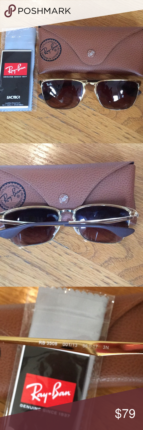 Ray Ban Sunglasses 3508 Ray Ban Sunglasses. 100% guaranteed authentic.  Excellent condition. 116c7290c5
