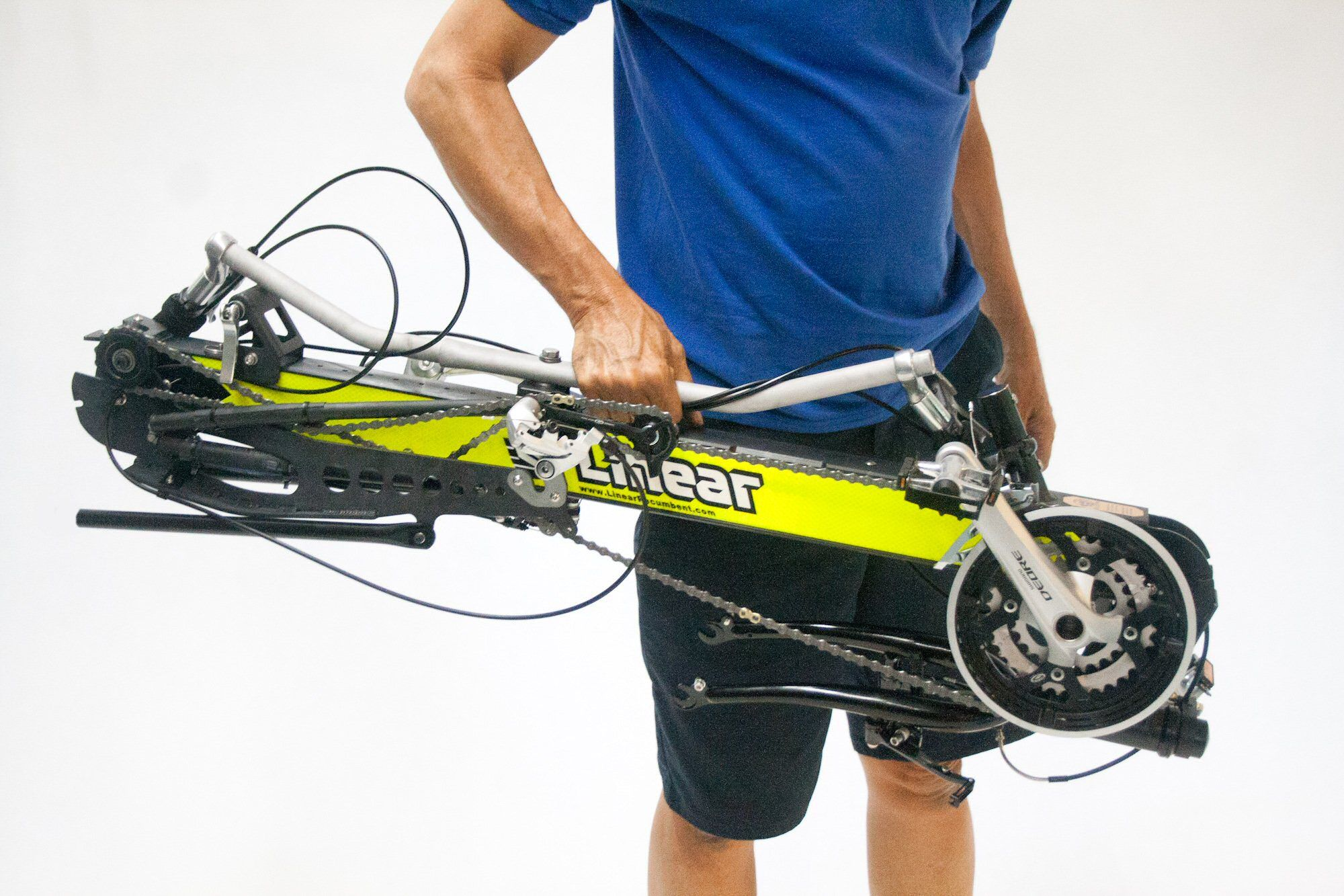 Linear Limo Foldable Recumbent Bike Why Not Be Comfortable
