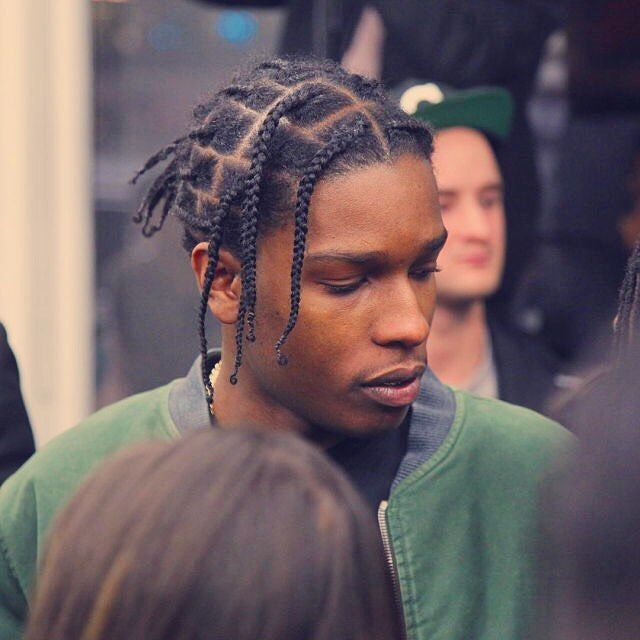 Awesome 50 Different Ways To Rock Asap Rocky Braids Strong Personality Asap Rocky Braids Long Hair Styles Hair Styles