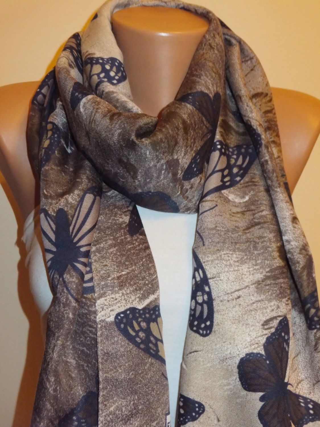 A personal favorite from my Etsy shop https://www.etsy.com/listing/202872580/50-salecotton-butterfly-scarfvery-soft