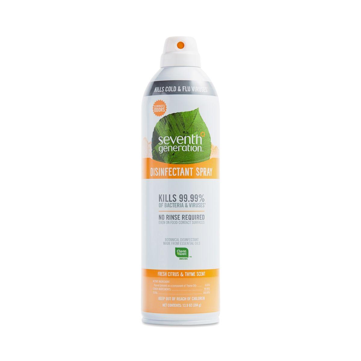 Seventh Generation Disinfectant Spray Fresh Citrus Thyme