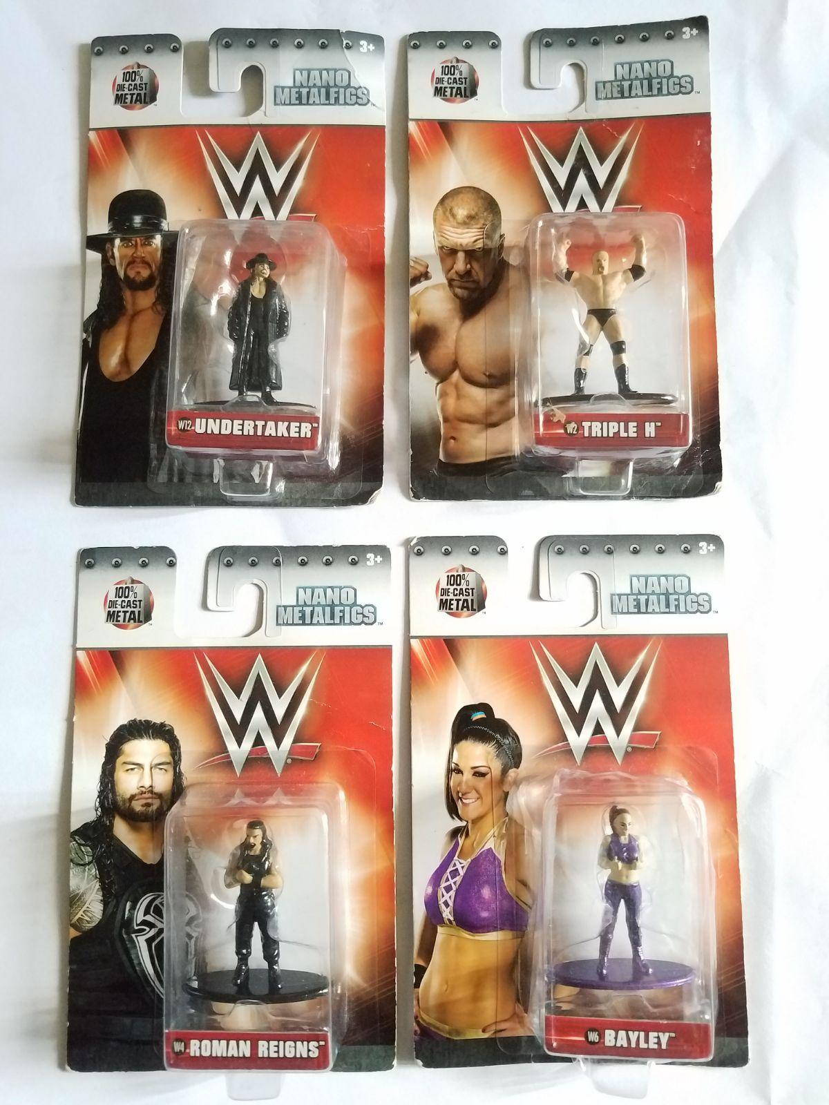 WWE Nano Metalfigs Triple H figure