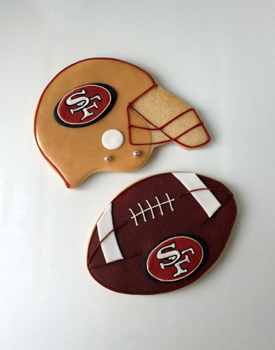 Helmet Cookies : helmet, cookies, Portfolio, Custom, Cookies, Football, Cookies,, Sugar