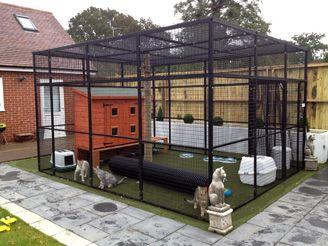 Simon S Cat Run Outdoor Cat Enclosure Cat Playground Outdoor Outdoor Cat House