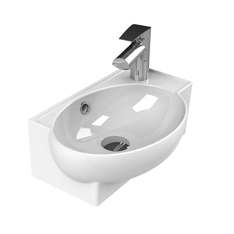 Small Corner Ceramic Wall Mounted Or Vessel Sink Bathroom Sink Tops Sink Small Bathroom Sinks