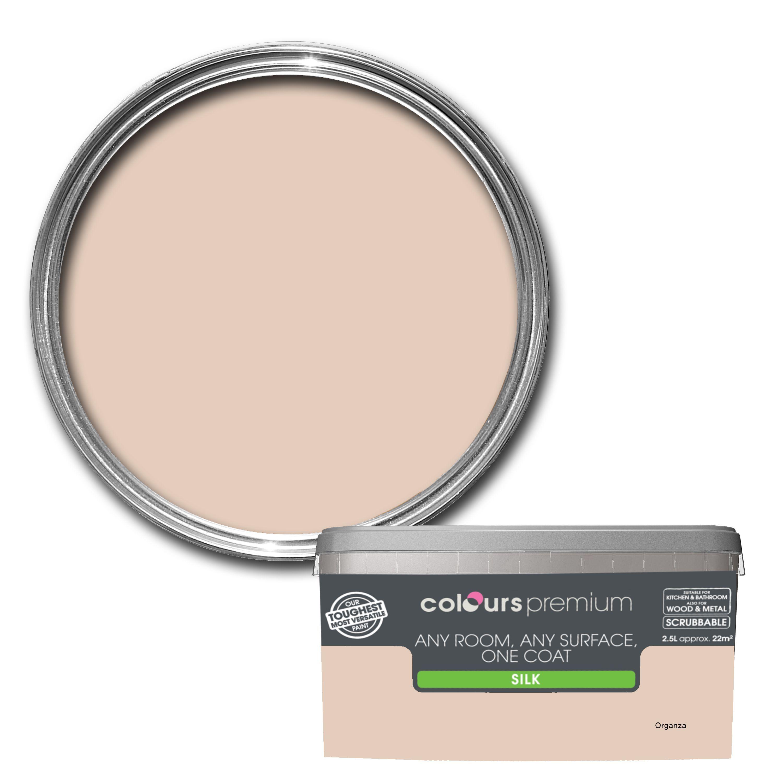 Colours Premium Any Room One Coat Organza Silk Emulsion