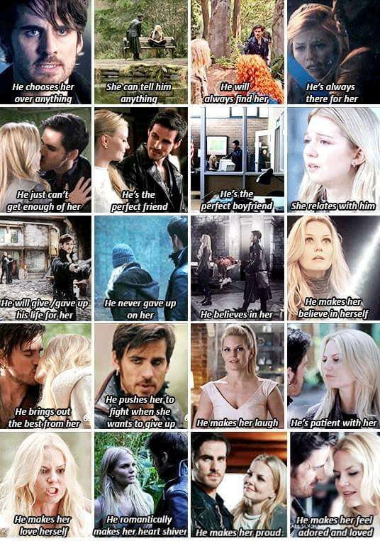 Captain Swan  Talk about the Perfect Man!