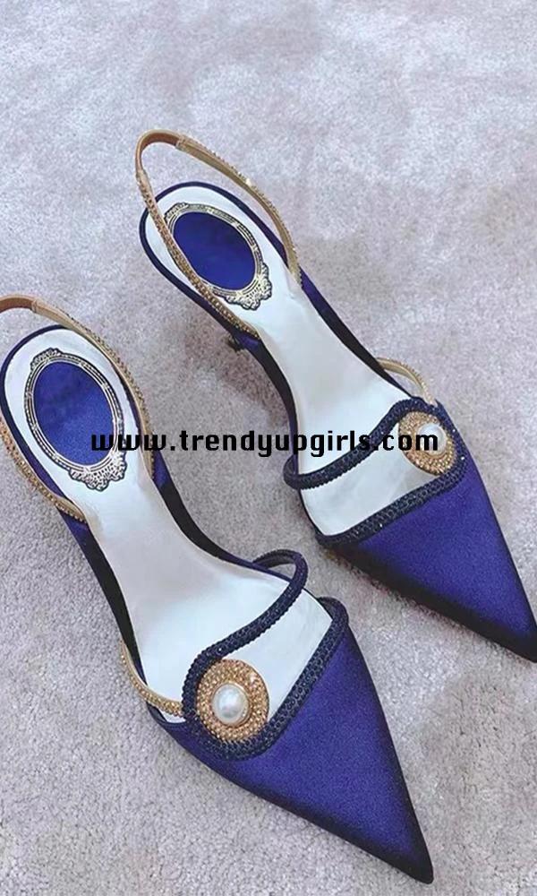 Photo of Popular High Heels Sandals Women Shoes HZS0151