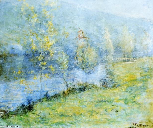John Henry Twachtman Mayo Morn Comment Peindre Art Du Paysage