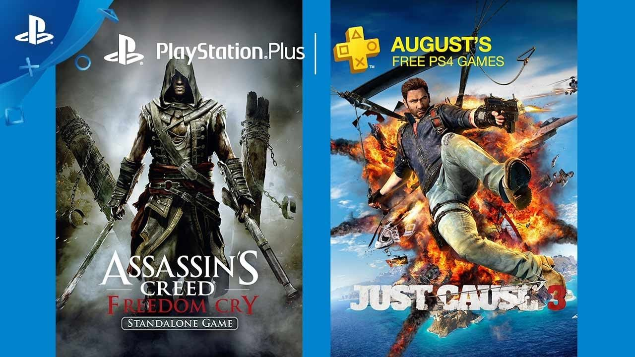 PlayStation Plus Free PS4 Games Lineup August 2017