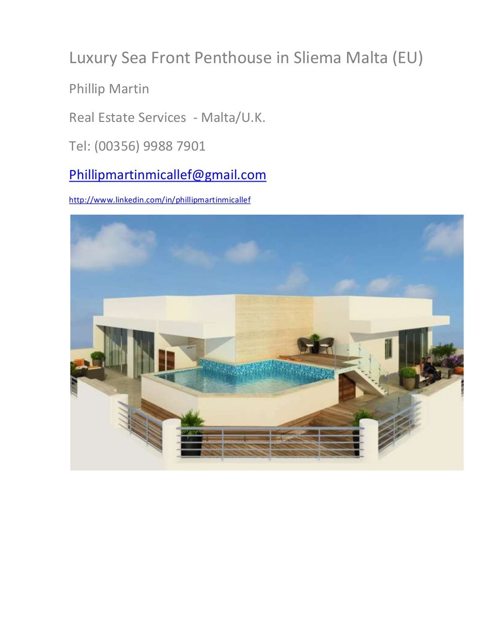 Salle De Bain Slide Share ~ luxury sea front penthouse sliema malta 16541378 by phillip martin