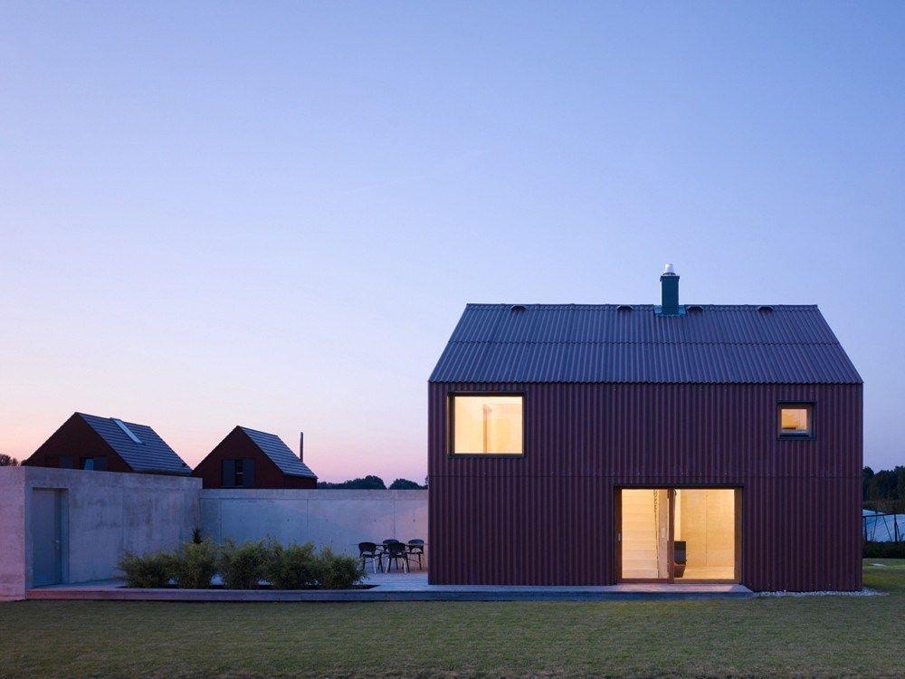 Haus Bru 1.25, a barn-like home by SoHo Architektur; 1 bedroom + loft in 969 sq ft (90 m2)