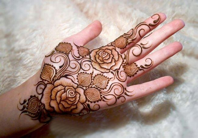 New Rose Flower Mehndi Designs For Valentines Day Rose Mehndi Designs Latest Mehndi Designs Henna Tattoo Hand