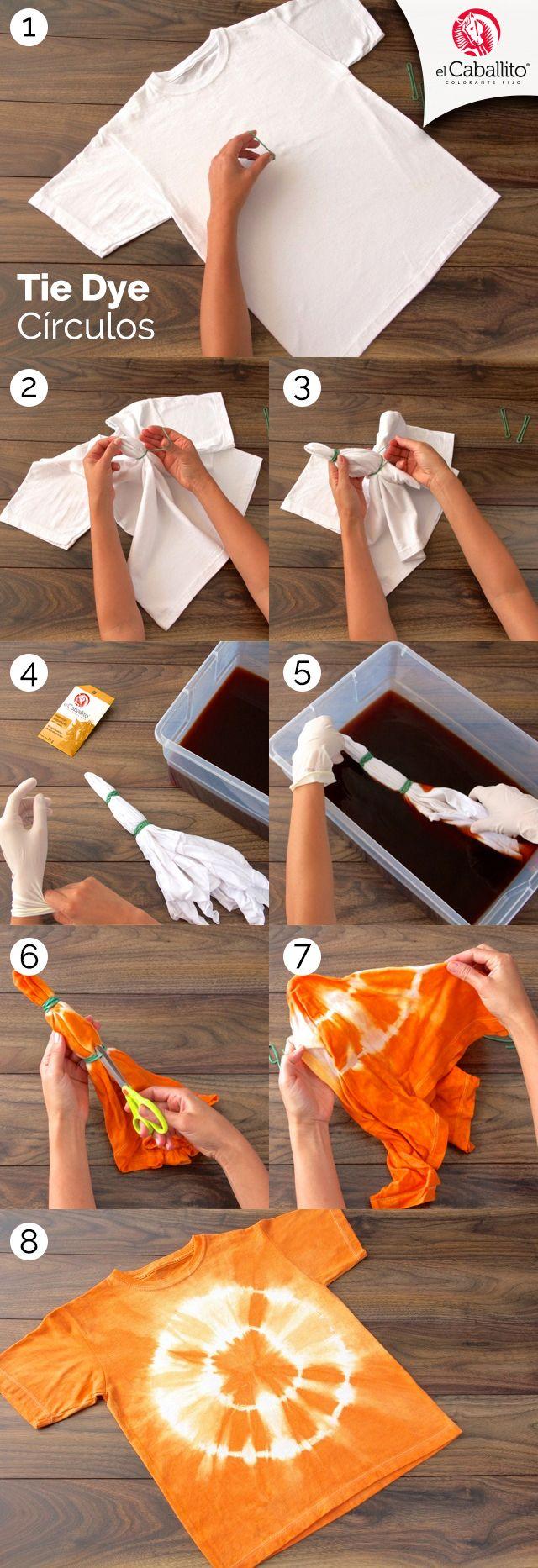 Pin En Aprende A Hacer Tie Dye