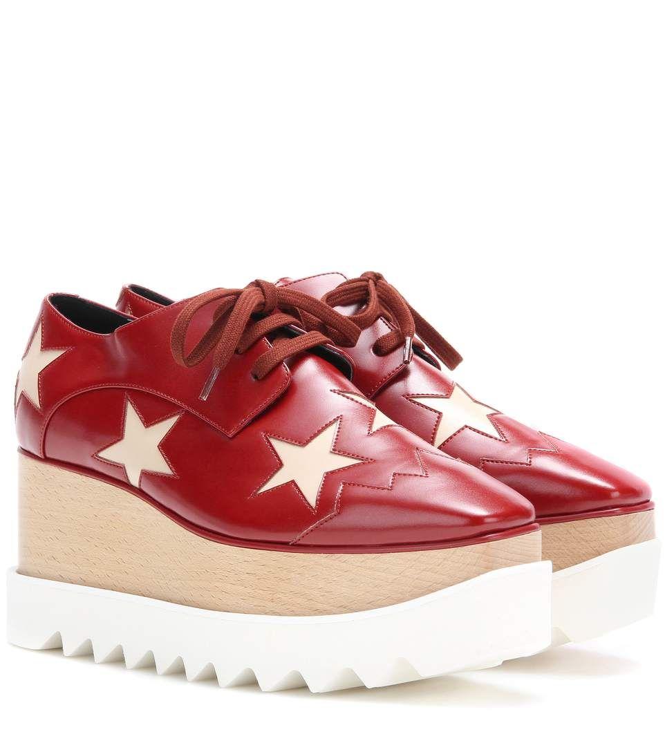 Elyse Chaussures Star Derby De La Plate-forme Stella Mccartney 7wAOdfZao7