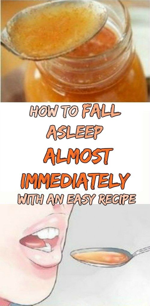 How to Fall Asleep Almost Immediately with an Easy Recipe