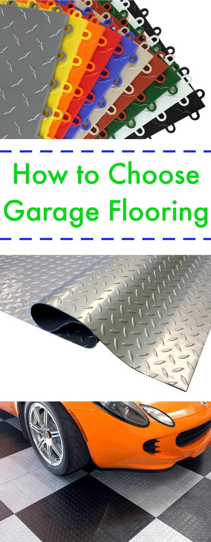 how to choose garage flooring pinterest. Black Bedroom Furniture Sets. Home Design Ideas