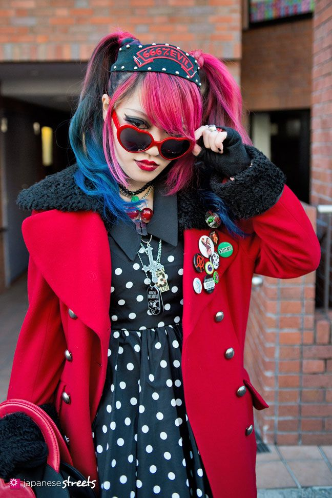 130127-3843: Japanese street fashion in Harajuku, Tokyo.