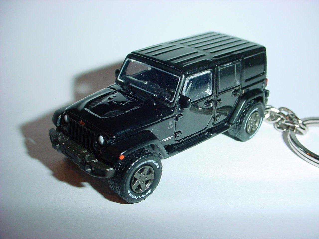 3d Jeep Wrangler Unlimited 4 Door Custom Keychain By Brian