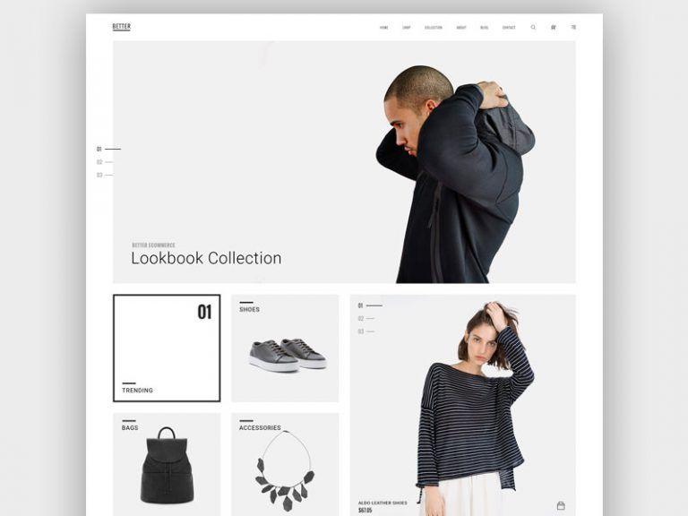 Minimalist Web Design Principles Best Practices And Examples Minimalist Web Design Fashion Web Design Fashion Website Design