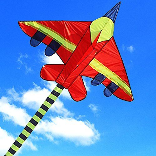 Hengda Kite Long Tail Cartoon Fighter Kites the Plane Kite for ...