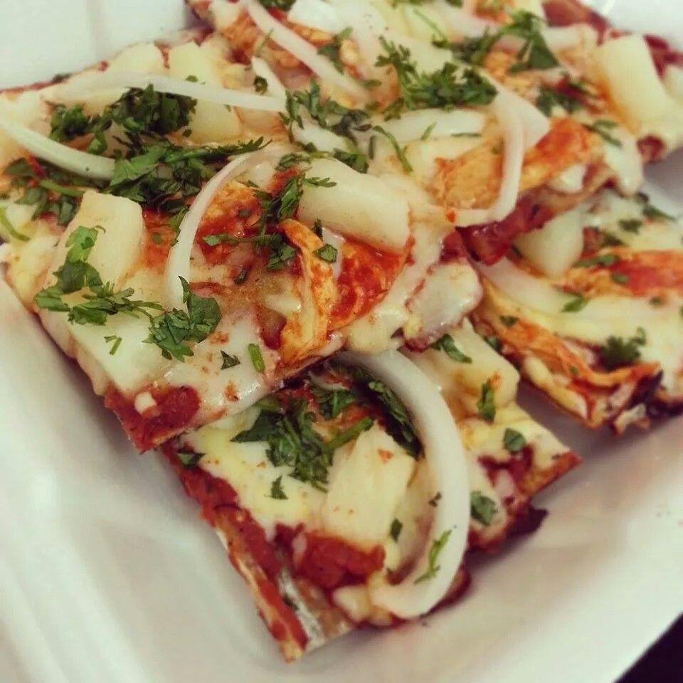Pizza  estilo al pastor de san pietro puerto vallarta #pizza #eatpizza #ilovepizza