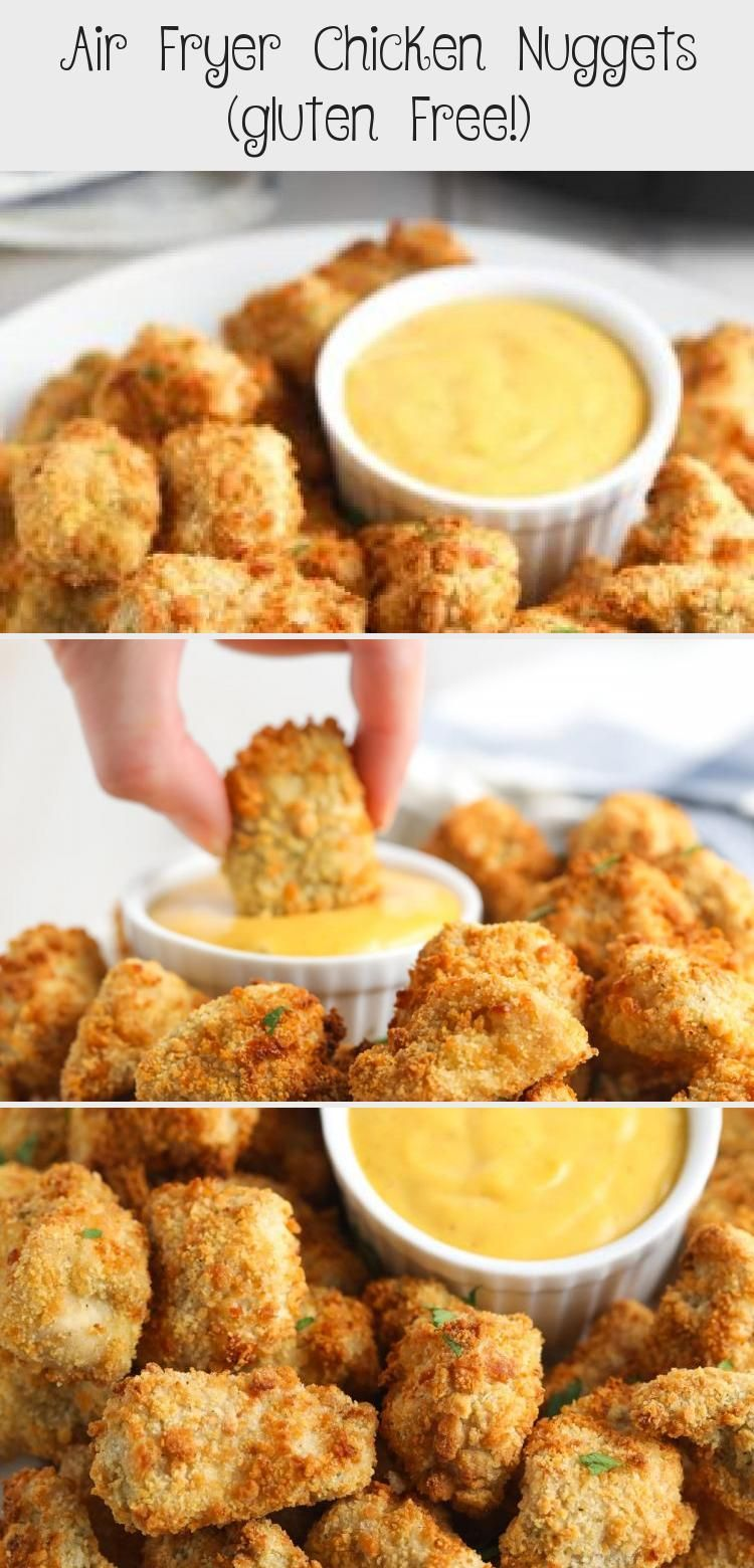 Crispy Air Fryer Chicken Nuggets Recipe (Gluten Free!)