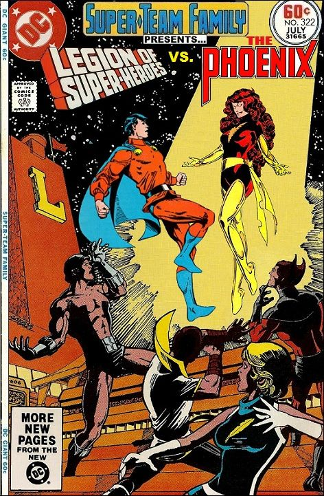 Super-Team Family: The Lost Issues!: Legion of Super Heroes Vs. The Phoenix