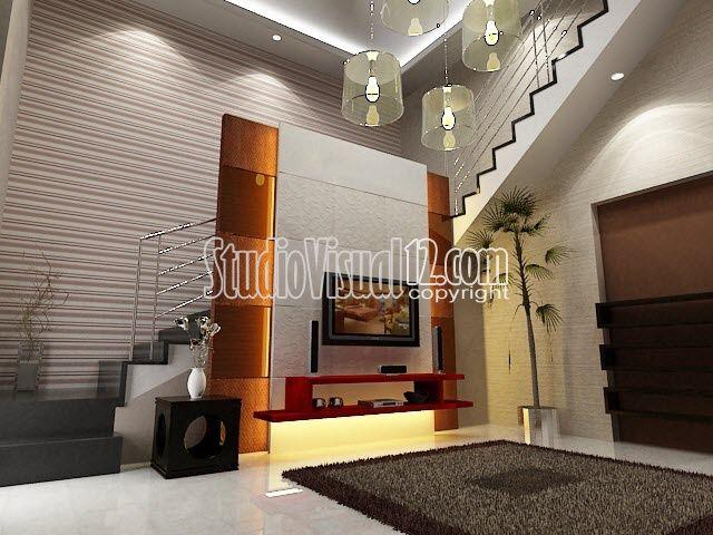 25+ Ide Desain Ruang TV dan Ruang Keluarga Modern ...