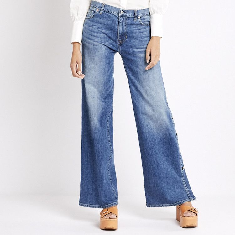 Gwyneth Paltrow's Favorite Things: These Nili Lotan flare jeans have soft denim, a well-worn, faded wash, and a mid-rise that is super silhouette-elongating.