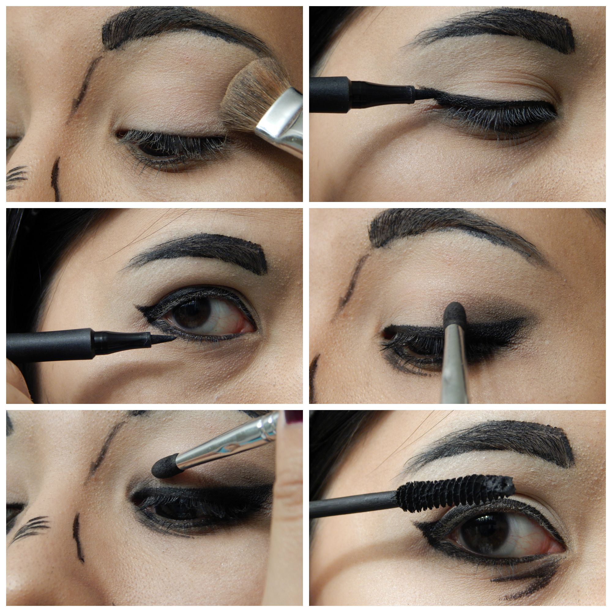 Cel shading tutorial choice image any tutorial examples cell shading makeup tutorial decorativestyle cosplay make up tutorial cel shading comic book hair nails baditri baditri Gallery