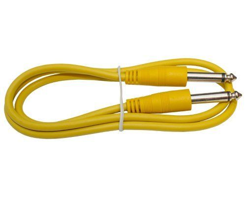 1 4 Shielded Instrument Patch Cable 2ft Long Yellow By Yovus 2 75 This Is A 2ft Yellow Instrument Cable With 1 4 Musical Instruments Sound Stage Instruments