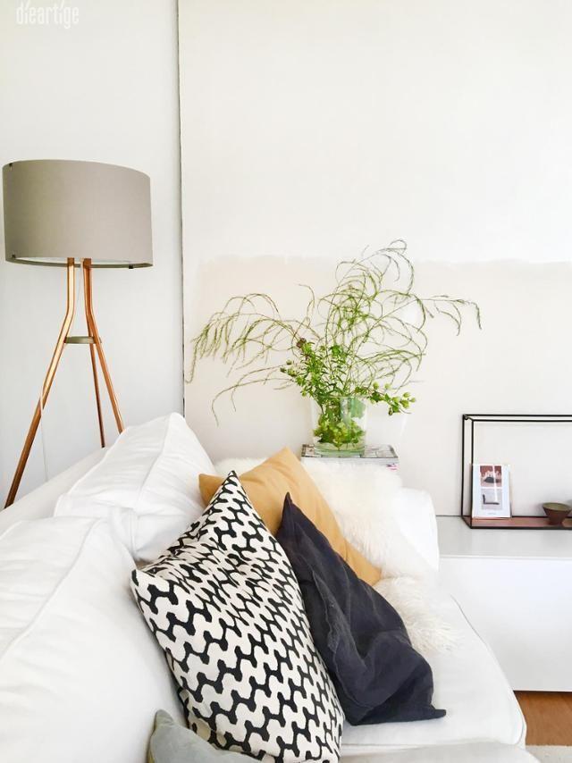 Wilder Spargel im #Wohnzimmer #Sofa #deko #interior Pinterest - wohnzimmer deko grau weis