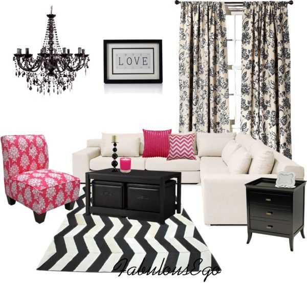 """""""Living Room #4"""" by fabulousego on Polyvore"""