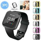 3PC TPU Full Screen Protector Protect Frame Case Cover For Fitbit versa Lite h #Fitness