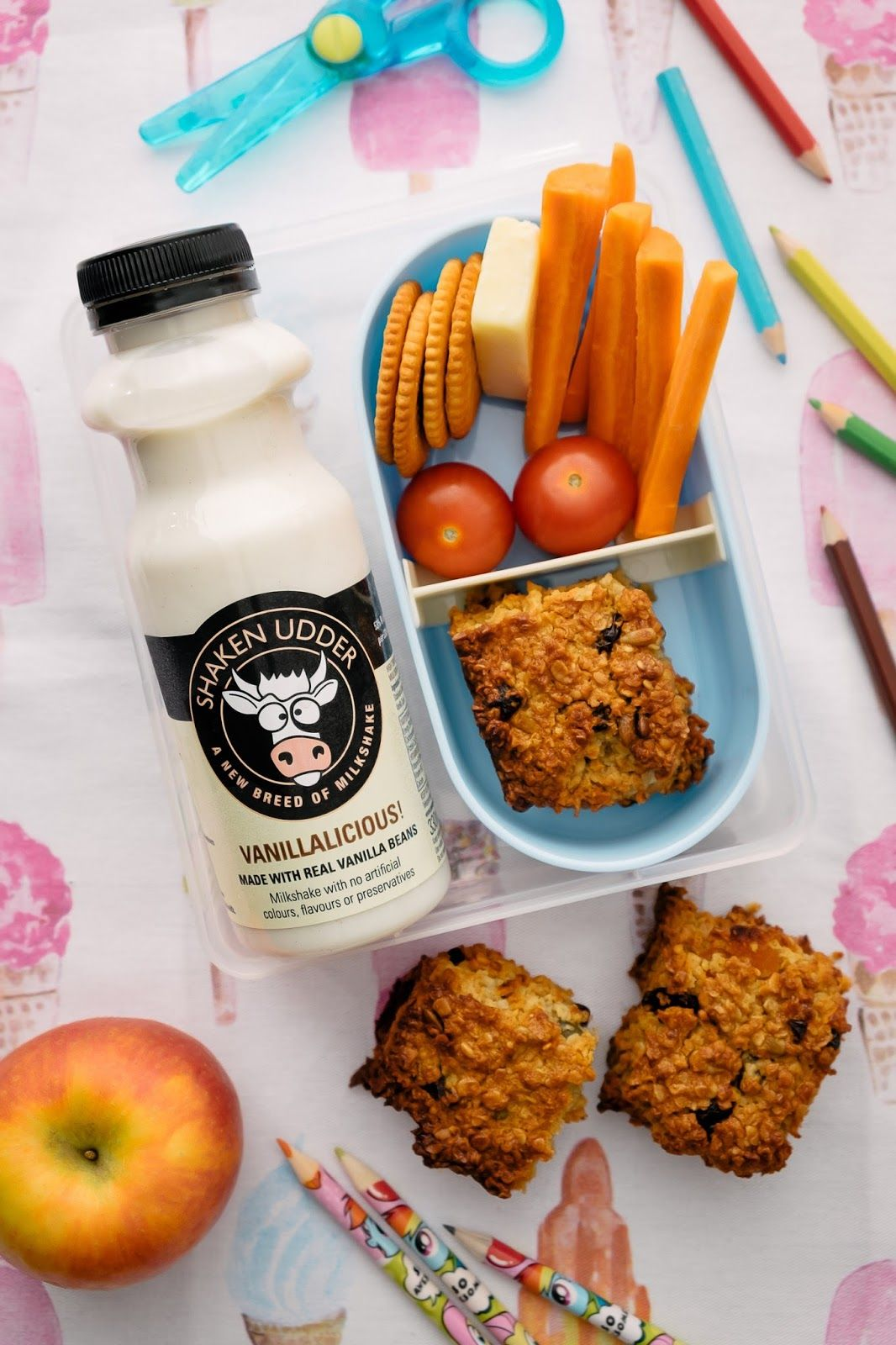 I Wasn't Expecting That...: Vanillalicious Protein-Packed Flapjack...