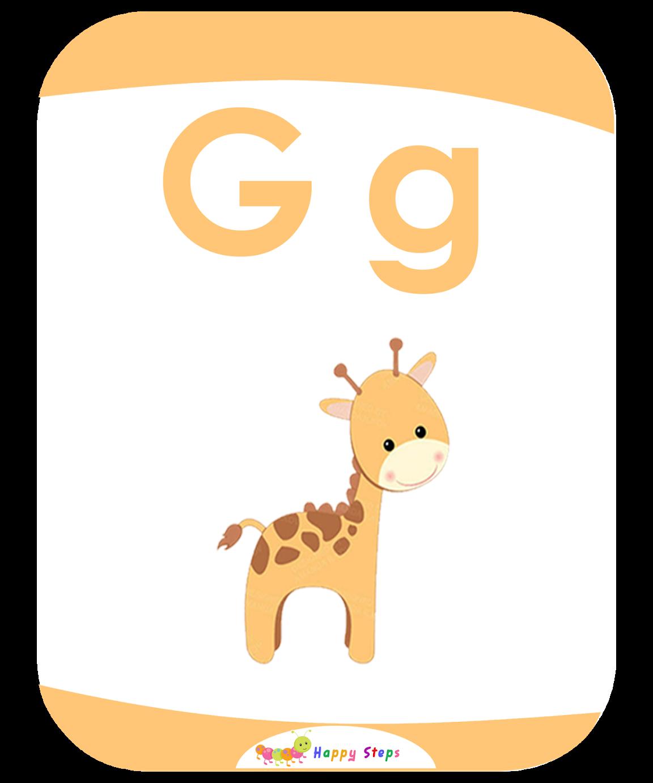 Letter G Flashcards