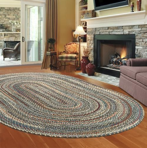 I Would Love A Braided Rug In Front Of The Fireplace