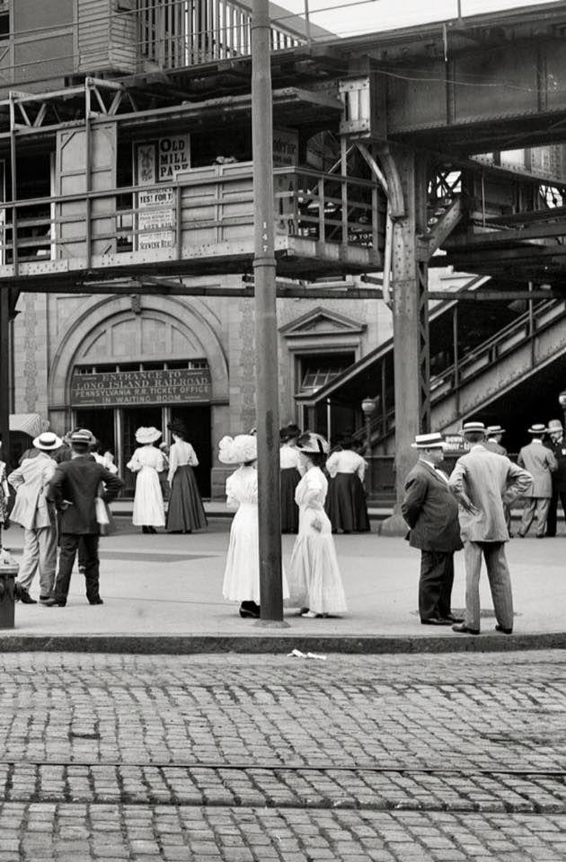 Atlantic Avenue subway entrance. Brooklyn, N.Y., c.1910 | Oh, Oh, Oh on new york avenue monopoly, new york avenue cape may, new york avenue washington dc, boardwalk atlantic city,