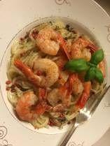 Chilireker med pasta, middag på 12 minutter!