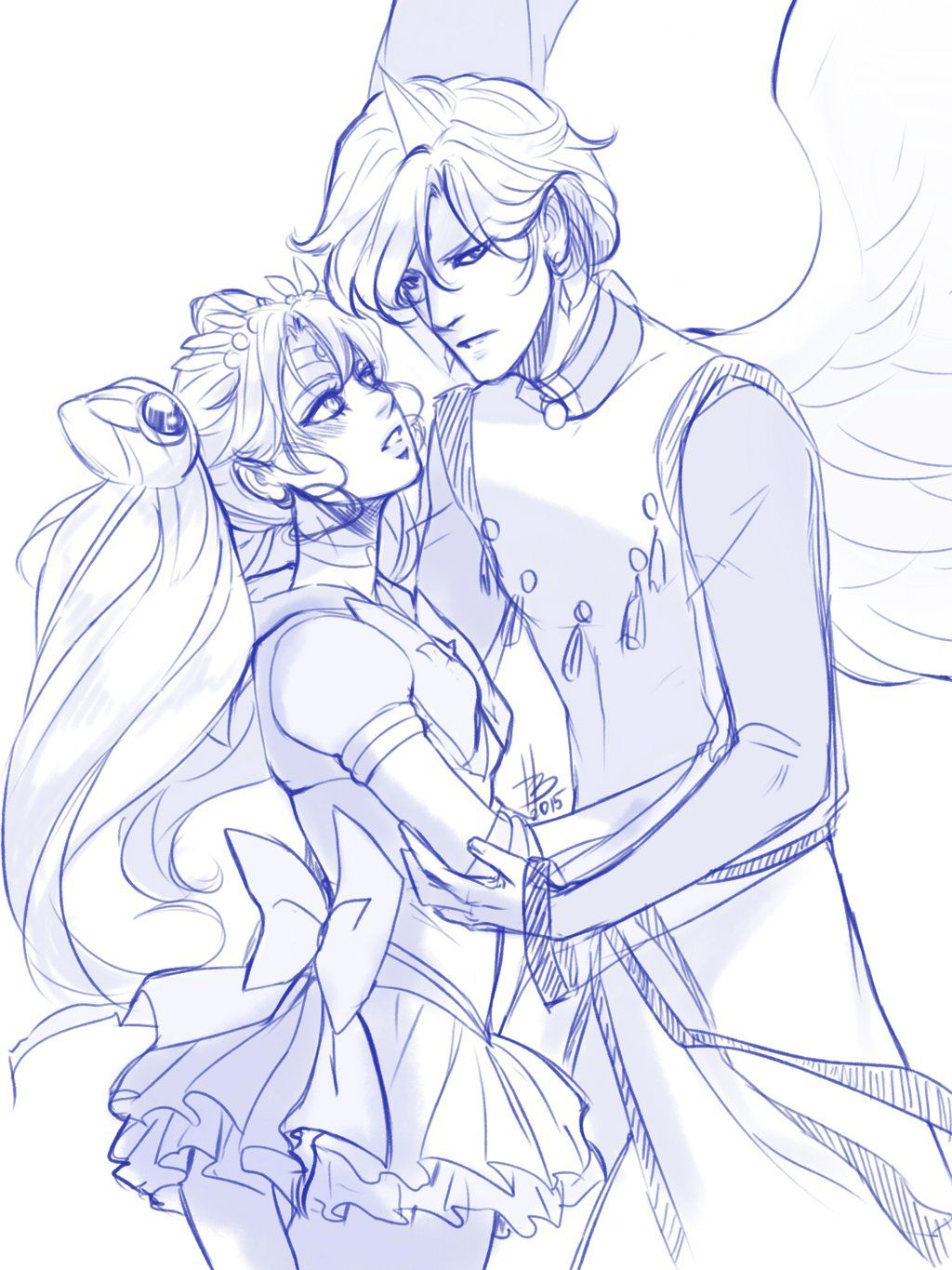 Chibiusa and Helios | Chibiusa & Helios (Sailor Moon) | Pinterest