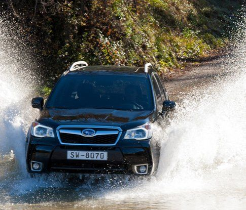 The new Subaru Forester