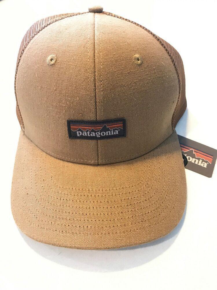 Patagonia Tin Shed Trucker Hat Workwear Canvas Coriander