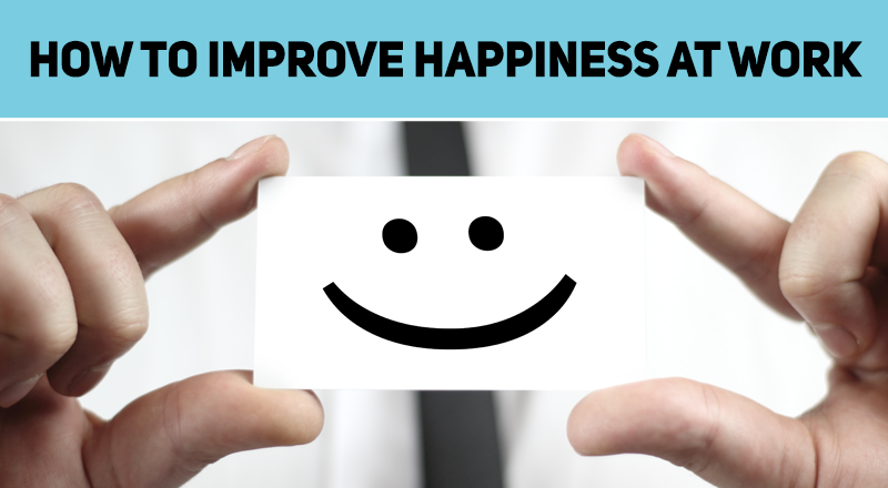 Feeling a bit down at work? Here are 7 ways to improve your work happiness.