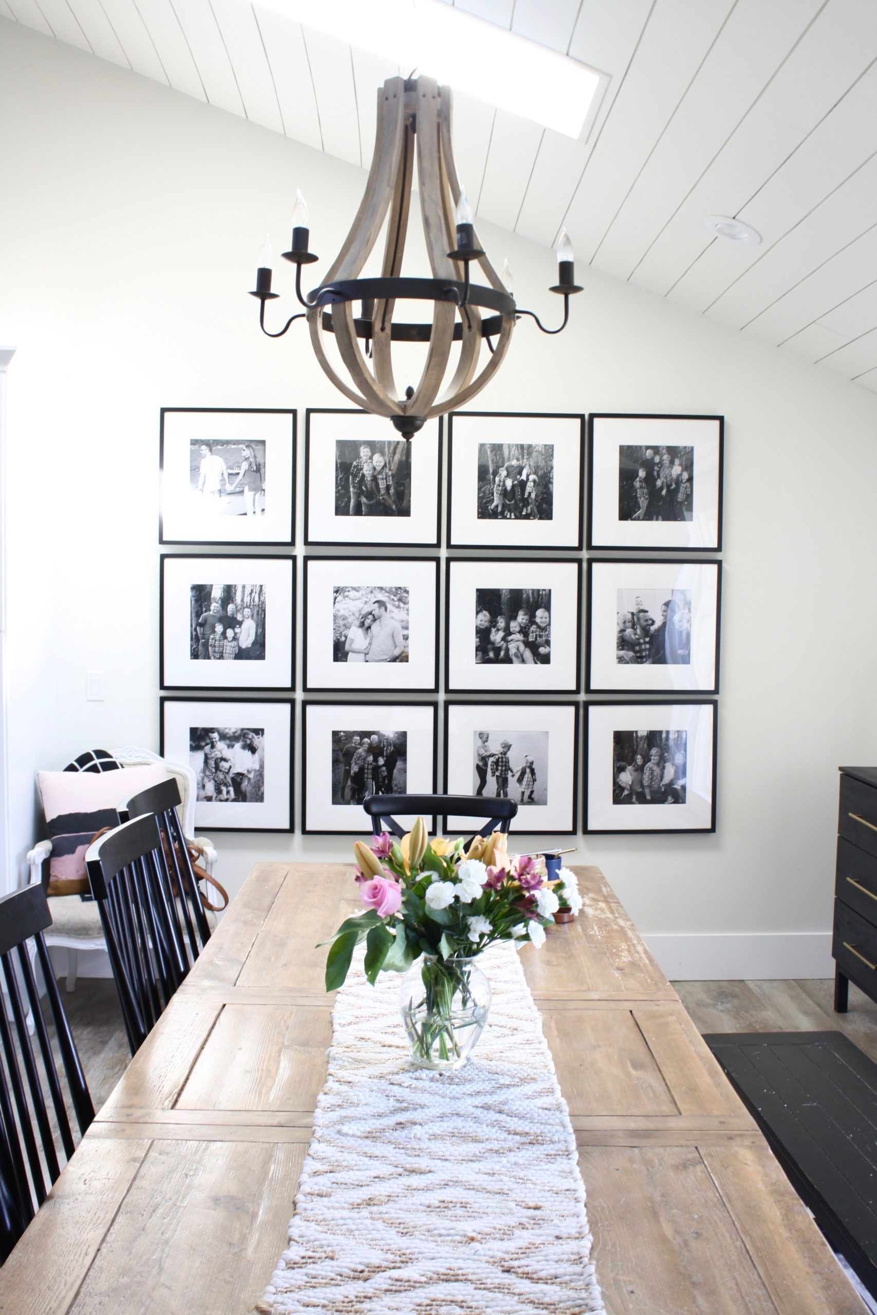 Creating Home: Gallery Wall In the Dining Room – Design Style Purpose