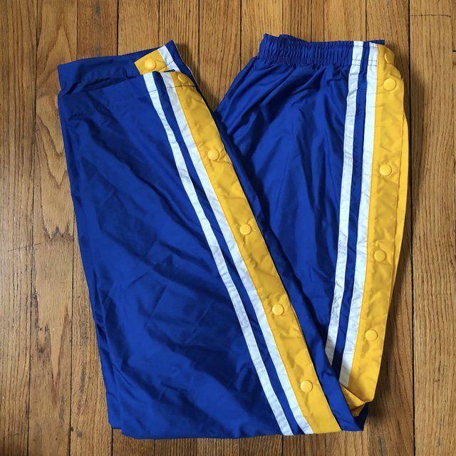 Vintage adidas track jacket (black wyellow Depop