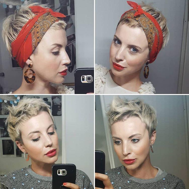 Das Schone An Kurzen Haaren Ist Die Vielfaltigkeit Glatt Durchgewuschelt Locken Mit Einem Haarband Oder Mit Ei Kurze Haare Locken Locken Machen Haar Band