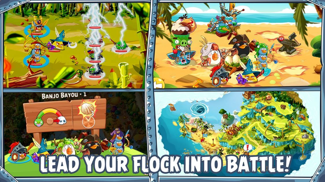 Angry Birds Epic Gameplay Trailer (Video) http//www