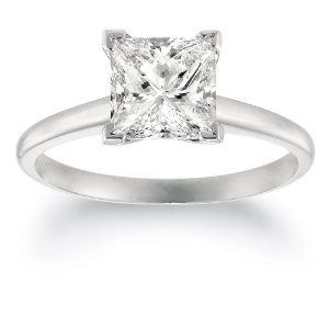 Princess Cut Engagement Rings Engagement rings Pinterest