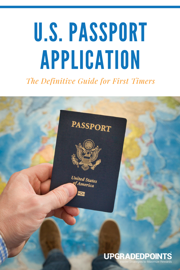 application for a us passport instructions